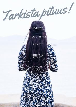 hiusten pituus